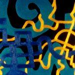 "Al Quandusi Park, acrylic on linen,18"" x 24"", 1997"