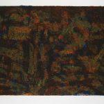 """Dark November, collograph, 29.5"""" x 41.5"""", 2008"""