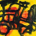 "Frontline, acrylic on canvas, 16"" x 20"", 2008"