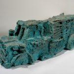 "Mesa, cast iron, 14"" x 41"" x 19"", 2007"