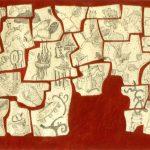 """Midge, ink on paper, 24"""" x 36"""", 2003"""
