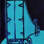"""PV 14, acrylic on canvas board, 14"""" x 11"""", 2013"""