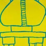 """PV39, acrylic on canvas board, 28"""" x 22"""","""