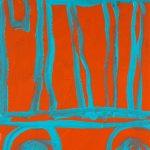 """PV45, acrylic on MDO plywood, 16"""" x 12"""","""