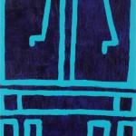 """PV 8, acrylic on canvas board, 14"""" x 11"""", 2013"""
