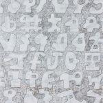 """Pegasus, ink on paper, 20.5"""" x 14"""", 1998"""