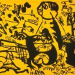 """Regression, lithograph, 15"""" x 20"""", 1971"""