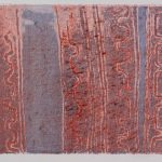 "Regulation Rest M.P. 4, monoprint collogrqph, 29.5"" x 41.5"", 2015"