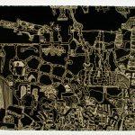 "Boca, lithograph, 8.5""x14"", 1999"
