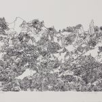 "Crane Mountain, 1971, lithograph, 15"" x 20"", ed. 19"