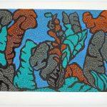 """Jongleur's Dell,litho, 1992, 25"""" x 38"""""""